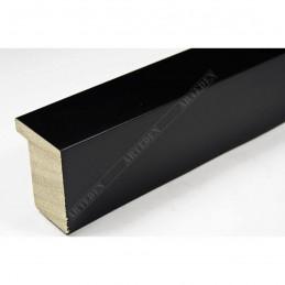 ASO800.63.500 28x35 - wąska czarna mat blejtram rama do zdjęć i luster