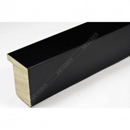 ASO800.63.500 28x35 - wąska czarna matowa rama do zdjęć i luster