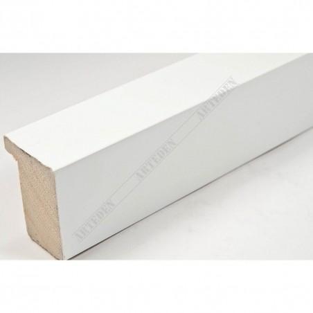 ASO800.63.509 28x35 - wąska biała matowa rama do zdjęć i luster
