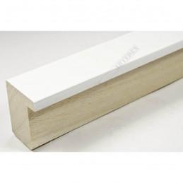 ASO800.63.509 28x35 - wąska biała mat blejtram rama do zdjęć i luster sample1