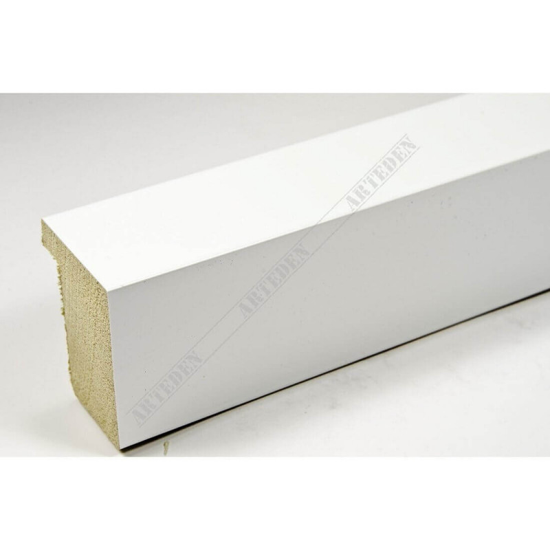 ASO800.63.548 28x35 - wąska biała lak blejtram rama do zdjęć i luster