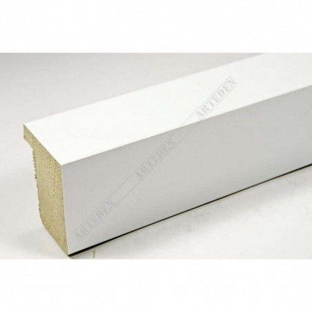 ASO800.63.548 28x35 - biała lakierowana rama do obrazów i luster