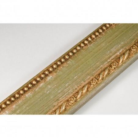 BOE152.53.047 50x16 - rama drewnianaa clasico verde oro