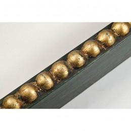 BOE170.33.047 18x37 - mała classico verde oro ramka do zdjęć i obrazków