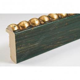 BOE170.33.047 18x37 - mała classico verde oro ramka do zdjęć i obrazków sample1