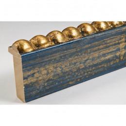 BOE170.33.050 18x37 - mała classico blue oro ramka do zdjęć i obrazków sample1