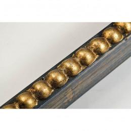 BOE170.33.050 18x37 - mała classico blue oro ramka do zdjęć i obrazków