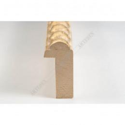BOE170.33.051 18x37 - mała classico panna oro ramka do zdjęć i obrazków sample