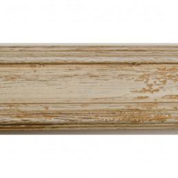 BOE183.53.048 44x20 - drewniana affresco biała rama do obrazów i luster sample1