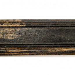 BOE183.53.049 44x20 - drewniana affresco czarna rama do obrazów i luster sample1