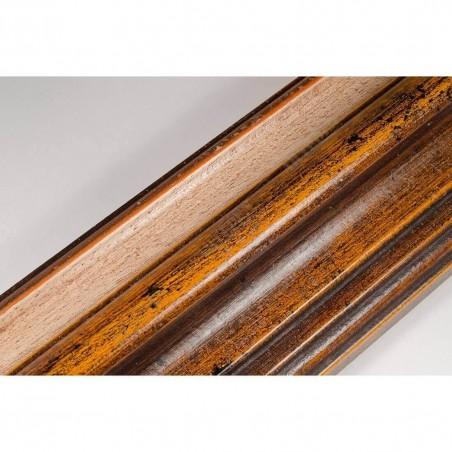 BOE187.93.020 89x54 - rama classico ocra gola bianco filo oro