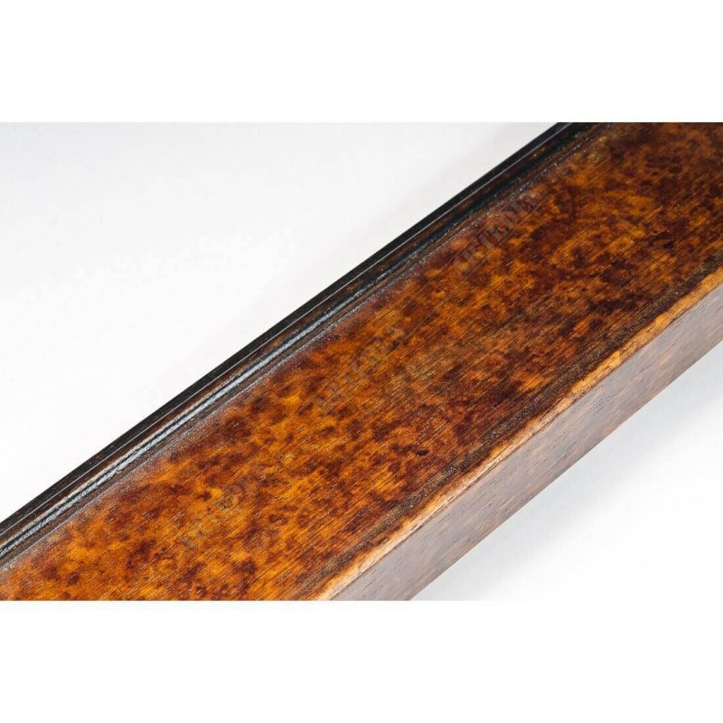 BOE226.63.090 65x33 - drewniana noce macchiato antica rama do obrazów i luster