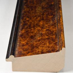 BOE226.63.090 65x33 - drewniana noce macchiato antica rama do obrazów i luster sample