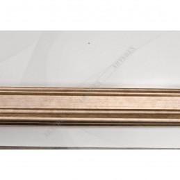 IAF030-02 35x22 - drewniana staro ocieplana srebrna rama do obrazów i luster sample1