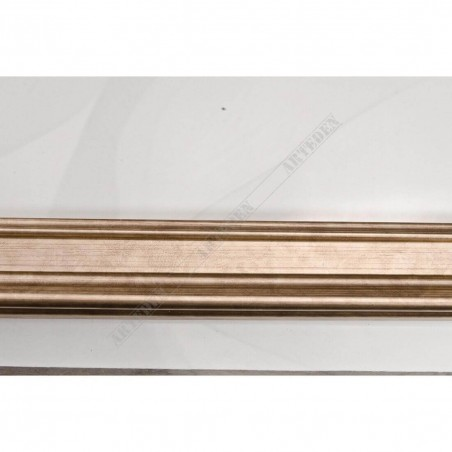 IAF030-02 35x22 - staro ocieplana srebrna rama do obrazów i luster
