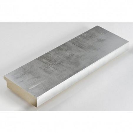 IAF301-52 67x15 - drewniana srebrna rama do obrazów i luster