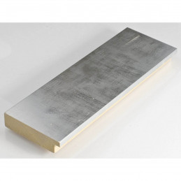 IAF301-52 67x15 - drewniana srebrna rama do obrazów i luster sample1