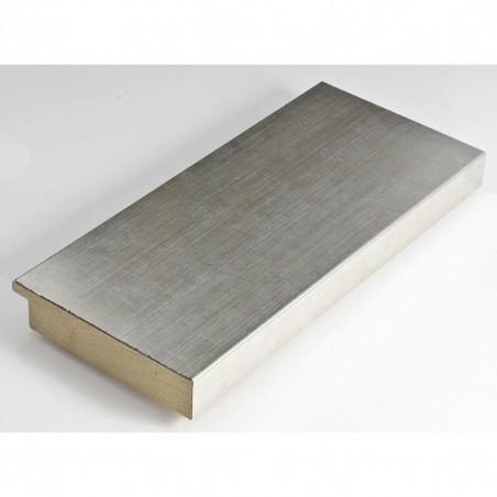 IAF305/12 90x20 - szeroka srebrna rama do obrazów i luster