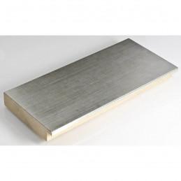 IAF305/12 90x20 - szeroka srebrna rama do obrazów i luster sample