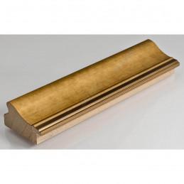 IAF675-11 50x30 - drewniana złota rama do obrazów i luster sample
