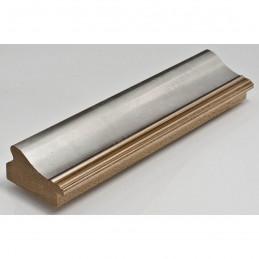 IAF675-12 50x30 - drewniana srebrna rama do obrazów i luster sample