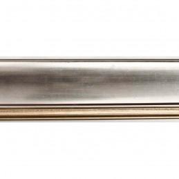 IAF675-12 50x30 - drewniana srebrna rama do obrazów i luster sample1