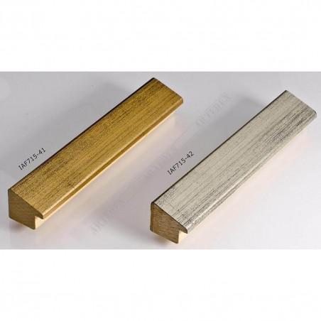 IAF715-42 23x22 - wąska srebrna rama do zdjęć i luster sample