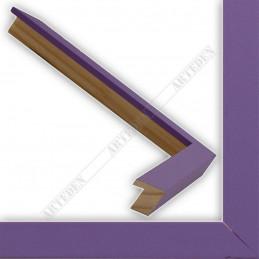 INK1717.206 17x16 - mała fioletowa ramka do zdjęć i obrazków sample