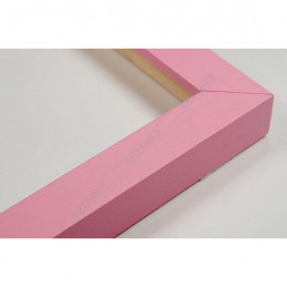 INK1717.252 17x16 - mała jasno różowa ramka do zdjęć i obrazków