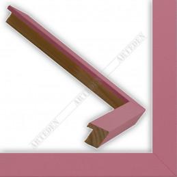 INK1717.252 17x16 - mała jasno różowa ramka do zdjęć i obrazków sample