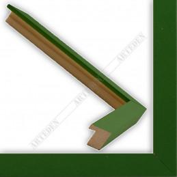 INK1717.294 17x16 - mała jasno zielona ramka do zdjęć i obrazków sample