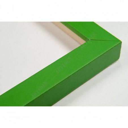 INK1717.294 17x16 - mała jasno zielona ramka do zdjęć i obrazków