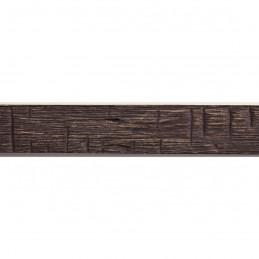INK1717.336 17x16 - mała ciemno brązowa drapana ramka do zdjęć i obrazków sample1