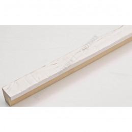 INK1717.380 17x16 - mała biała drapana ramka do zdjęć i obrazków sample