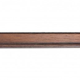 INK1811.236 28x15 - wąska ciemno brązowa rama do zdjęć i luster sample1