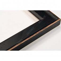 INK1811.471 28x15 - wąska czarna rama do zdjęć i luster