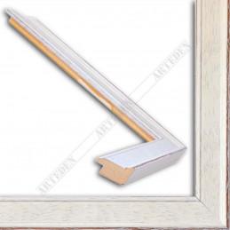INK1811.485 28x15 - wąska biała rama do zdjęć i luster sample