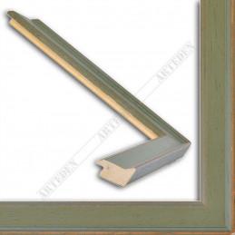 INK1811.495 28x15 - wąska zielona rama do zdjęć i luster sample