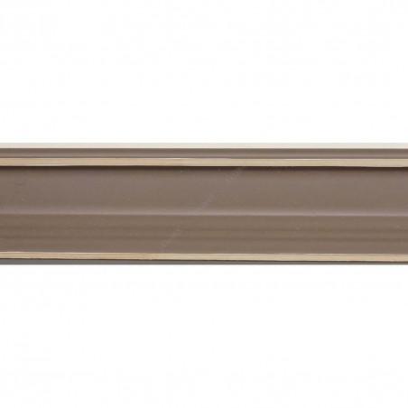 INK1814.434 23x23 - wąska ciemno beżowa rama do zdjęć i luster sample1