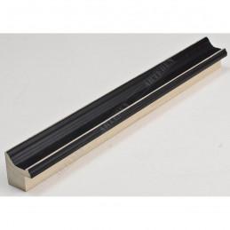 INK1814.470 23x23 - wąska czarna rama do zdjęć i luster sample