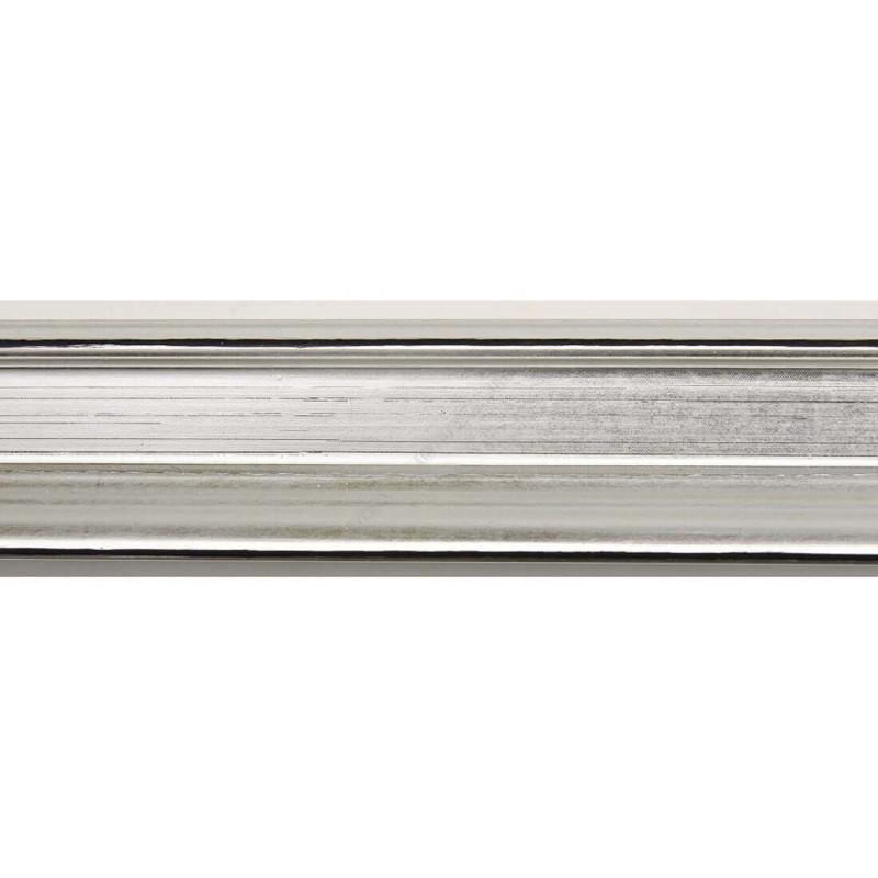 INK1814.620 23x23 - wąska srebrna rama do zdjęć i luster sample1