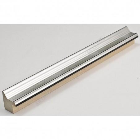INK1814.620 23x23 - wąska srebrna rama do zdjęć i luster sample