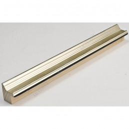 INK1814.624 23x23 - wąska srebrna ocieplana rama do zdjęć i luster sample