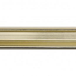 INK1814.720 23x23 - wąska jasno złota  rama do zdjęć i luster sample1