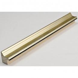 INK1814.720 23x23 - wąska jasno złota  rama do zdjęć i luster sample