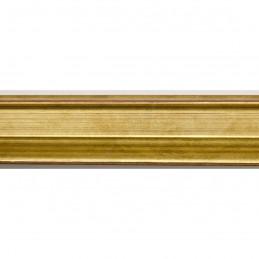 INK1814.740 23x23 - wąska złota dukatowa  rama do zdjęć i luster sample1