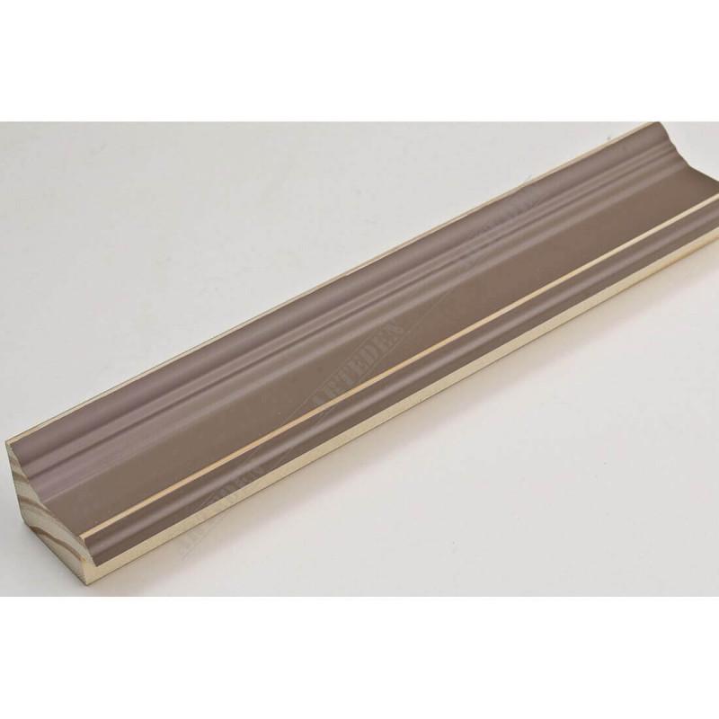 INK1815.434 42x28 - drewniana ciemno beżowa rama do obrazów i luster sample