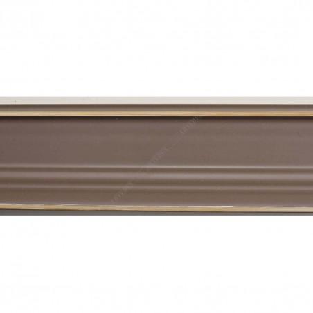 INK1815.434 42x28 - drewniana ciemno beżowa rama do obrazów i luster sample1