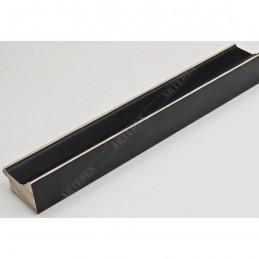 INK1815.470 42x28 - drewniana czarna rama do obrazów i luster