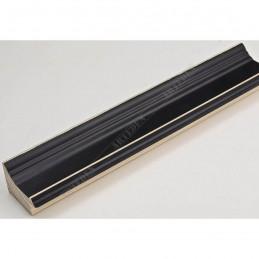 INK1815.470 42x28 - drewniana czarna rama do obrazów i luster sample